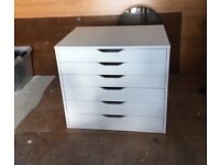 BRAND NEW IKEA ALEX unit with 6 drawers for sale