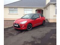 2014 Citroen DS3 1.6 HDI d-sport Plus 3dr ++ fully loaded, SAT/NAV etc ++ Finance available