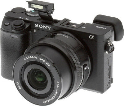 Sony Alpha a6000 Mirrorless Digital Camera with 16-50mm Lens (Black) ILCE6000L/B