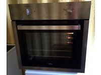 Black Chrome Single Built in electric oven