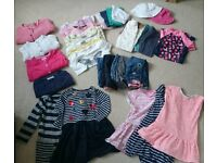 Girls Bundle of Clothes - Age 2-3 years - 34 items