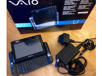 Sony Vaio VGN-UX1XN UMPC Portable Laptop Pc Solid State Boxed UX1 UX Series