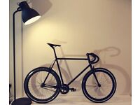 NEW IN!! !!! Steel Frame Single speed road bike fixed gear racing fixie bicycle K90L