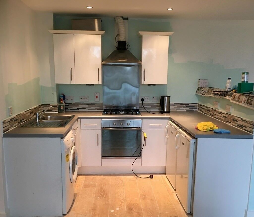 Kitchen Units Work Top Sink With Tap Hotpoint Oven
