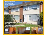 3 bedroom house to rent in Worthing.