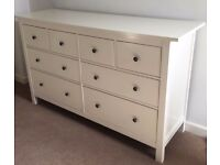 Wanted - I'm looking for an Ikea Hemnes 8 Drawer Chest of Drawers In White In Good Condition.