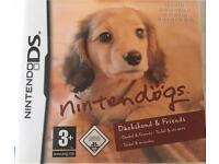 "Nintendo DS ""Nintendogs Dachshund & friends"" game"
