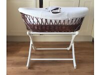 Baby Moses Basket & Stand