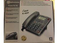 AMPLIFIED TELEPHONE FOR HARD OF HEARING (POWER TEL 96)