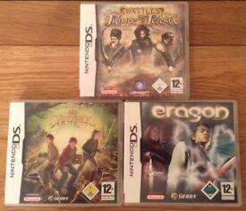 Nintendo DS Movies Games X 3