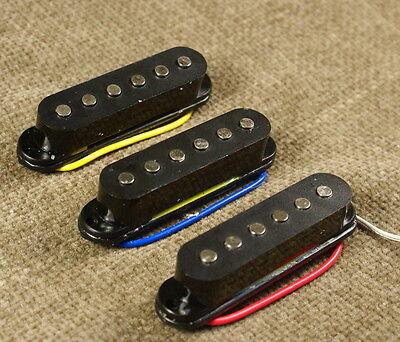 (A23) SSS Standard Single Coil Pickup Set ,Black