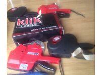 2x SATO DUO 20 + 2 Klik Price Labelling Guns