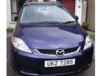 2007 Mazda 5 TS2 1.8 petrol,7 seats 5 door mot'd to feb 2019