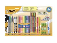 ASSORTED PACK of 32 ITEMS OF STATIONERY