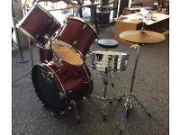 Drum Kit 5 Piece Red
