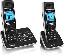 Brand New BT 6500 Nuisance Call Blocker Twin - Digital Cordless Phone With Answering Machine