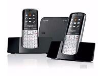 Gigaset SL400a Cordless Phone 2 phone set