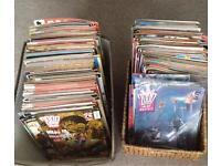255 2000ad Judge Dredd Comics magazines 1988 - 2004