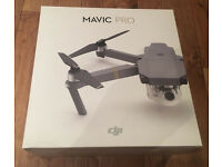 DJI Mavic Pro - Drone Action Camera - Brand New and sealed Full 12 month warranty