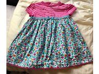 Jojo Maman Girls Dress Perfect Condition 6-12 mo