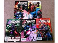 Avengers Disassembled Comics
