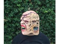 FX Studios Two Face Full Head Latex Mask New With Tags RRP £24.99