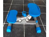 Kirkmuirhill Compact exercise fitness side stepper low impact workout display. equipment gym fitness