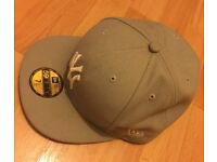New Era Fitted Hat Light Grey