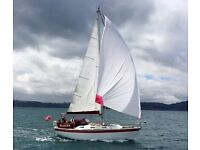 Colvic 30 sailing cruiser. 1982. In excellent condition, Yanmar 30 HP. Twin keel. Wheel steering.