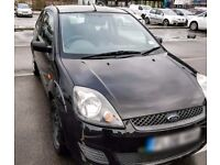 Ford Fiesta Style Climate Hatchback 1.2 2008 Manual 3DR Black Petrol Car - 70,000 Miles