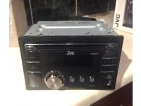 Jvc kw-xr411 double din car stereo cd player