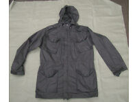 Genuine MoD Issue - Black Ripstop Windproof Field Jacket / Smock (size Large)