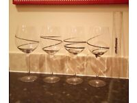 Large Handmade Wine Glasses