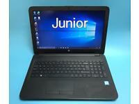 HP i5 UltraFast (6th Gen) 8GB, 256 GB SSD Slimline HD Laptop, Win 10, M office, HDMI, 4K, Immaculate