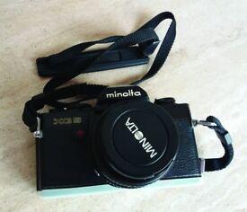 Minolta XG9 Camera with accessories