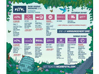 We are Fstvl Weekend Standard Ticket with Standard Camping *3 Tickets Available*