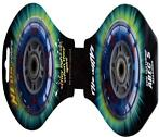 Wheelset StreetSurfing Light up Blue (WH06-LU-BL)