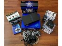 PlayStation PS2 bundle, including games
