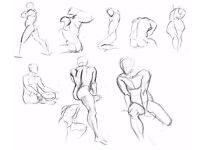 Anyone interested in Free Life Drawing Classes as Artist or Life model? Filmed Session Thurs. 2pm