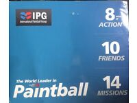 10 paintball tickets + 2000 free paintballs for final game event PRICE NEGOTIABLE