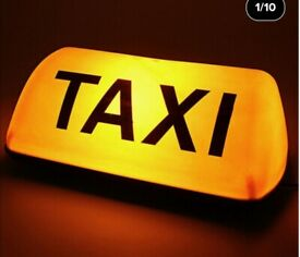 taxi licence for sale
