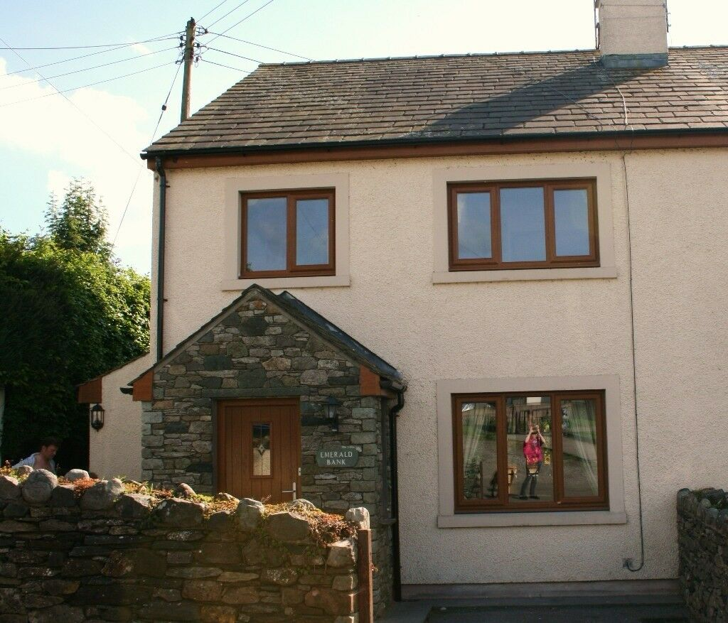 Emerald Bank Cottage - 4 star, sleeps 6-8 with games room, in the Lake District