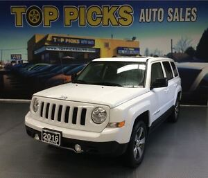 2016 Jeep Patriot HIGH ALTITUDE, LEATHER, SUNROOF, ALLOY WHEELS,
