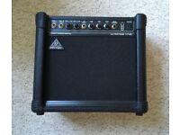 """Ultra-Compact 15-watt Keyboard Amplifier with VTC-Tecnology and Original 8"""" BUGERA Speaker"""