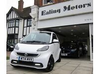 2014 SMART FORTWO GRANDSTYLE,CONVERTIBLE,AUTO,PETROL,POWER STEERING,ZERO TAX,HEATED LEATHER,SATNAV,