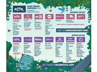 We are Fstvl *3 Day Standard Ticket with Standard Camping * 3 Tickets Available