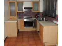 KITCHEN UNITS - including hob, oven and cooker hood