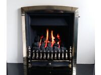 Valor Dream Fireslide 3.5 Kw Inset Gas Fire (Pale Gold)