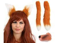 ANIMAL FOX NOSE EARS TAIL