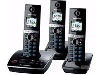 Panasonic KX-TG 8063 Trio Cordless Phone with Integrated Answering Machine New Boxed